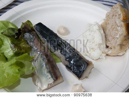 Mackerel Fillet With Various Sauces