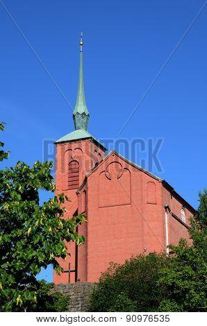 Sweden, The Church Of Nynashamn