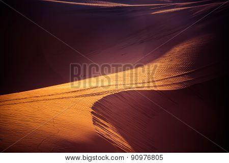 Sand dunes in the sagìhara desert
