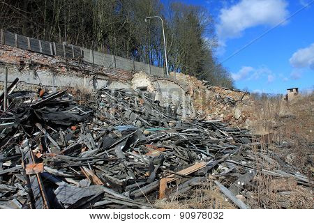 Photo From Demolition  Textile  Factory