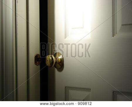 Mysterious Door Slightly Open