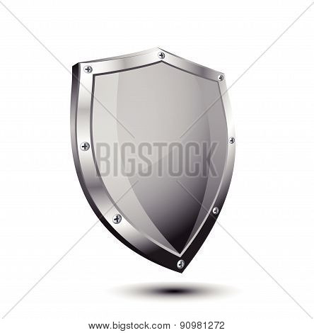 Empty metal shield