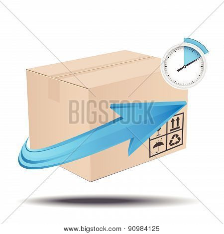 Time delivery services