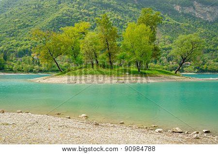 Lago Di Tenno (trentino, Italy)