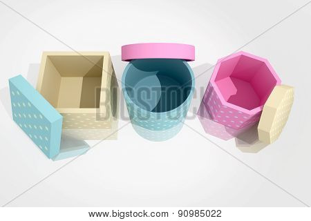 Gift Stamped Boxes