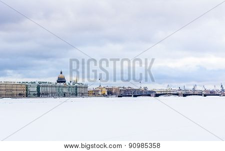 Saint-petersburg City Panorama