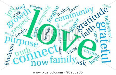 Love Word Cloud