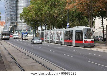 Vienna Modern Tram