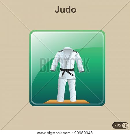 Judo Icon - Illustration