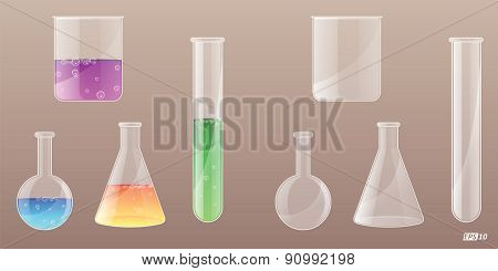 Laboratory Equipments - Illustration