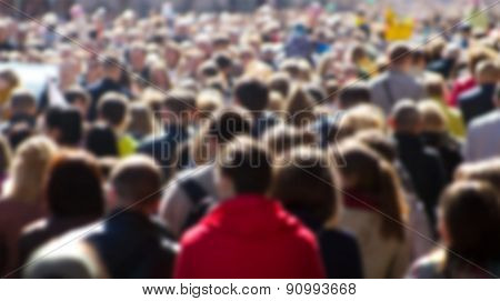 Street Crowd
