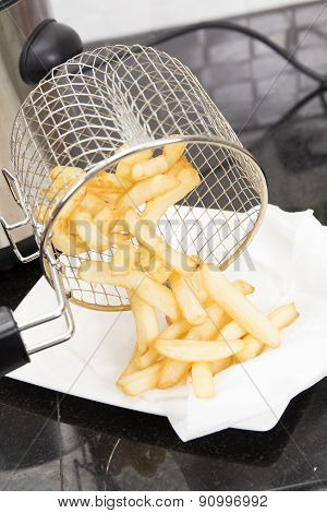 French Fried In The Basket