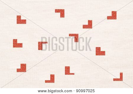 Design Prints On Textile Surface - Graphic Background