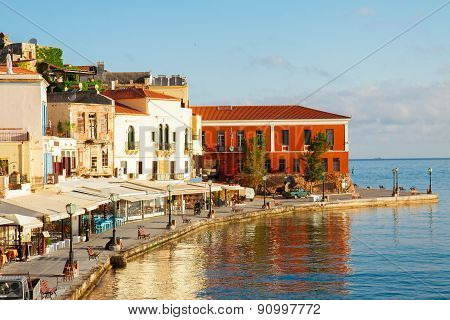 venetian habour of Chania, Crete, Greece