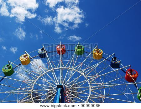 Ferris Wheel Without Visitors