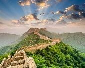 pic of mongolian  - Great Wall of China at the Jinshanling section - JPG