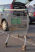 pic of car carrier  - Supermarket - JPG