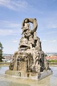 picture of bavaria  - Image of a monument on the Michelsberg in Bamberg Bavaria Germany - JPG