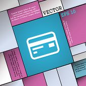 pic of debit card  - Credit debit card icon sign - JPG