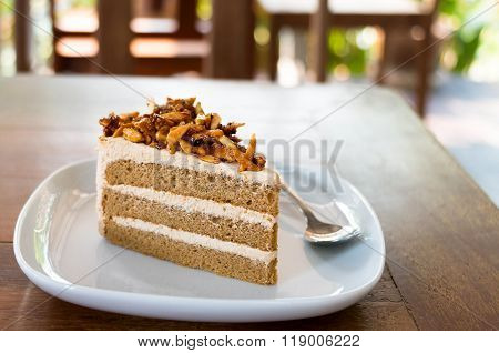 Mocca Almond Cake