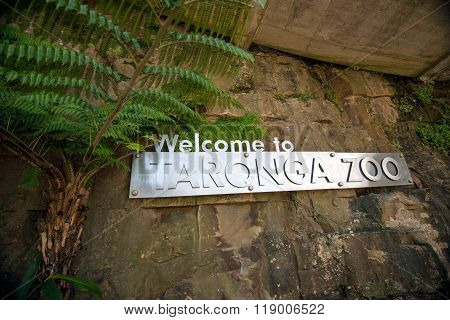 Taronga Zoo Entrance