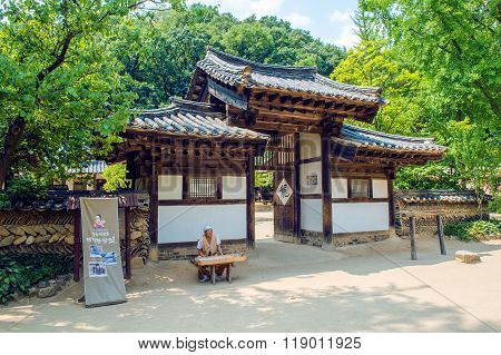Korean Folk Village,Traditional Korean style