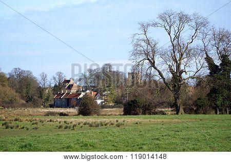 Village Of Fen Ditton, Cambridgeshire, England