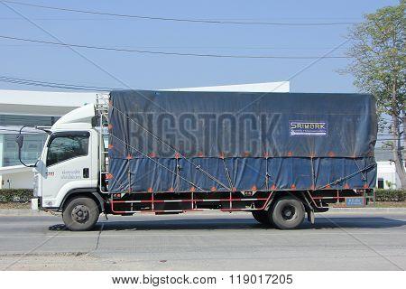 Cargo truck of Chanida Transport Company.