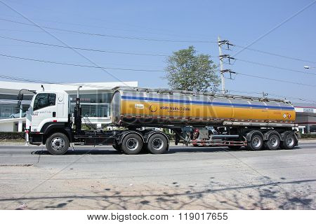 Truck of Pong RaVee Oil transport Company.