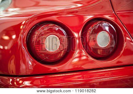 Rear Light Of A Modern Car