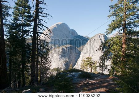 Hiking Panaramic Train In Yosemite