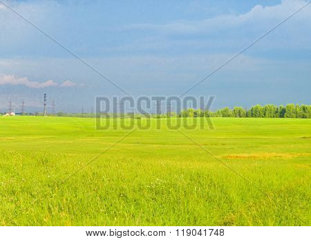 Fresh Landscape Field Freedom