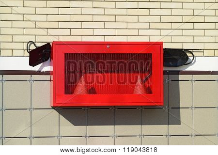 Fire Shield On The Wall