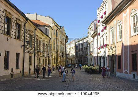 Kanonicza Street In Krakow
