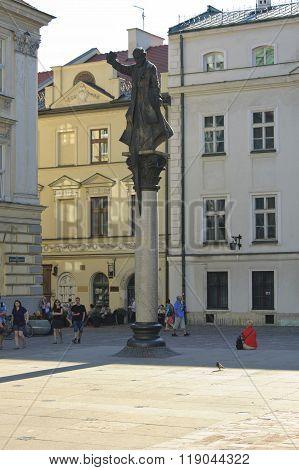 Piotr Skarga Monument