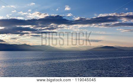 The Greek Archipelago At Sunrise