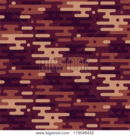 Camouflage Vector Seamless Pattern.