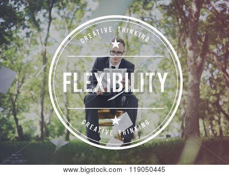 Flexibility Adaptability Adaptive Balance Change Concept