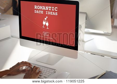 Romantic Date Ideas Love Romance Concept