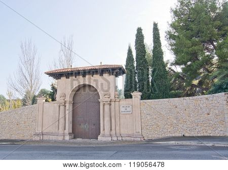 Marivent Entrance Portal