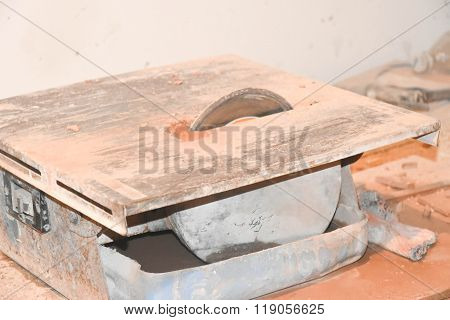 Machine For Cutting Tiles