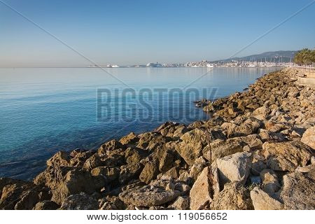 Seaside Coastal Landscape