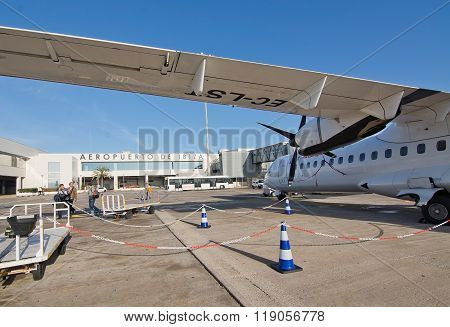 Ibiza Airport Exterior