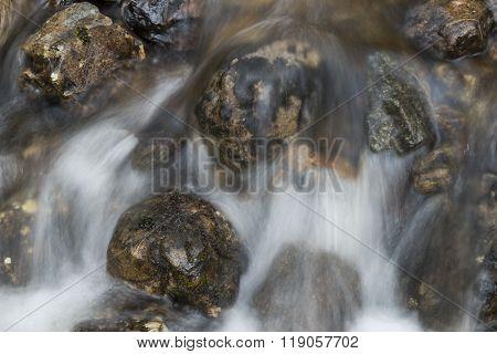 Creek Fast Flowing Water