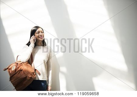 Artsy Asian Beautiful Chilling Fashion Journey Concept