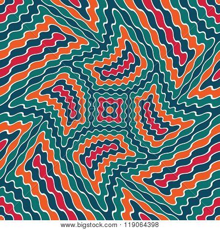 Vector modern seamless colorful geometry pattern weird color abstract