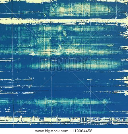 Old texture or antique background. With different color patterns: yellow (beige); blue; cyan