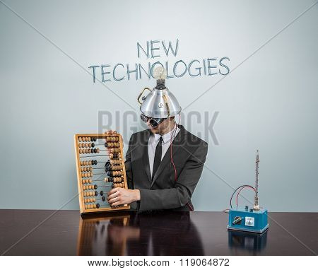 New technologies concept
