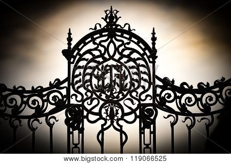 Gate To Buda Castle In Budapest.