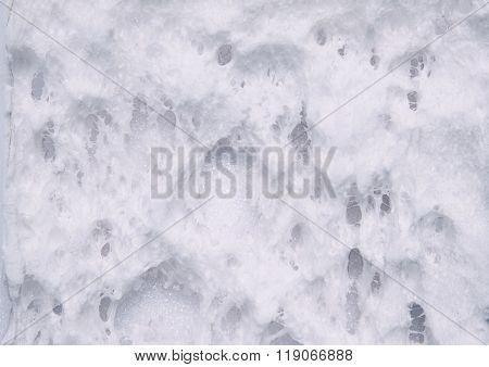 Construction foam background